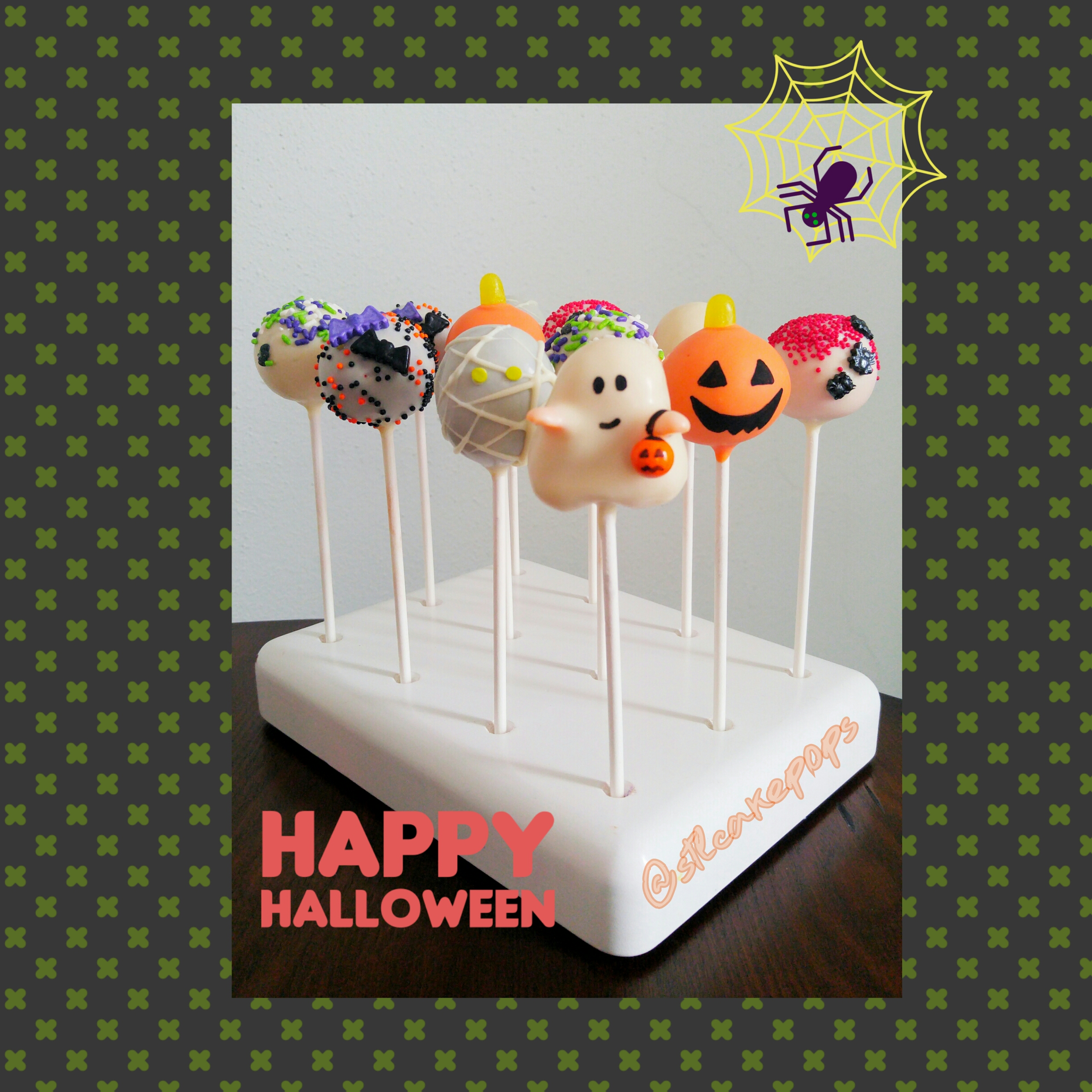 Assorted Halloween Cake Pops