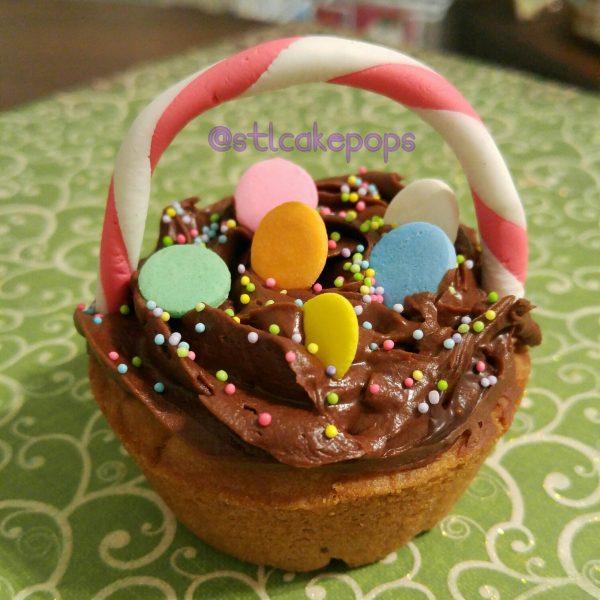 Easter Basket Cookie Cake