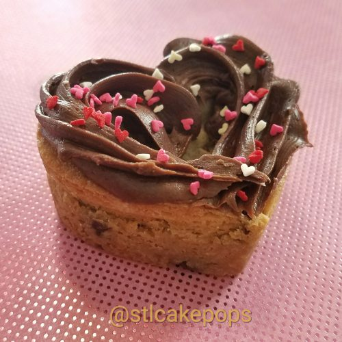Mini Heart Cookie Cake