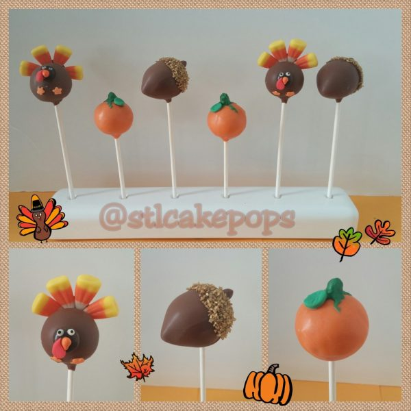 Thanksgiving Cake Pop Assortment