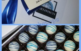 Net Effects Custom Corporate Holiday Truffle Box