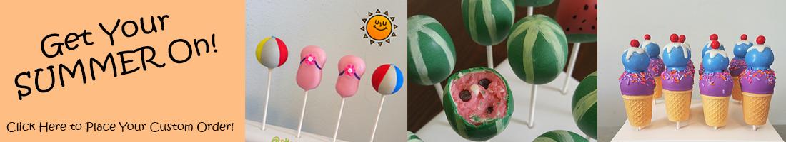 Summer Cakepops